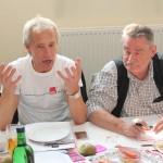 unsere Gäste aus Berlin und Niedersachsen im Redemarathon